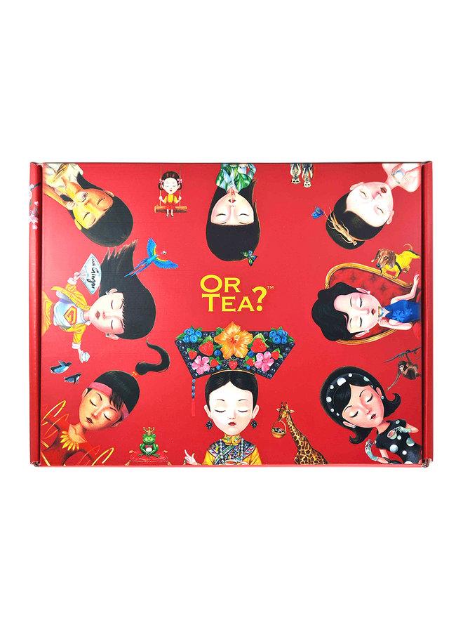 Or Tea?  Coffret cadeaux Tiffany's Breakfast (1 x boîte métallique+ 1 x T'mbler)