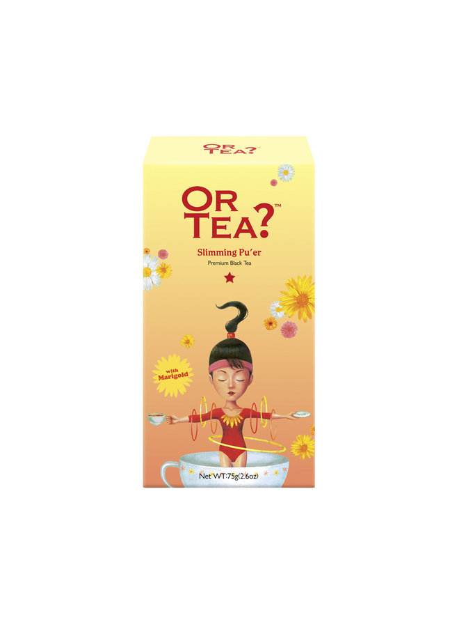 Slimming Pu'er - Re-charge (75g)