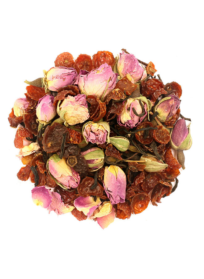 Or Tea? La Vie en Rose - Zwarte thee met roos navulverpakking (75g) losse thee