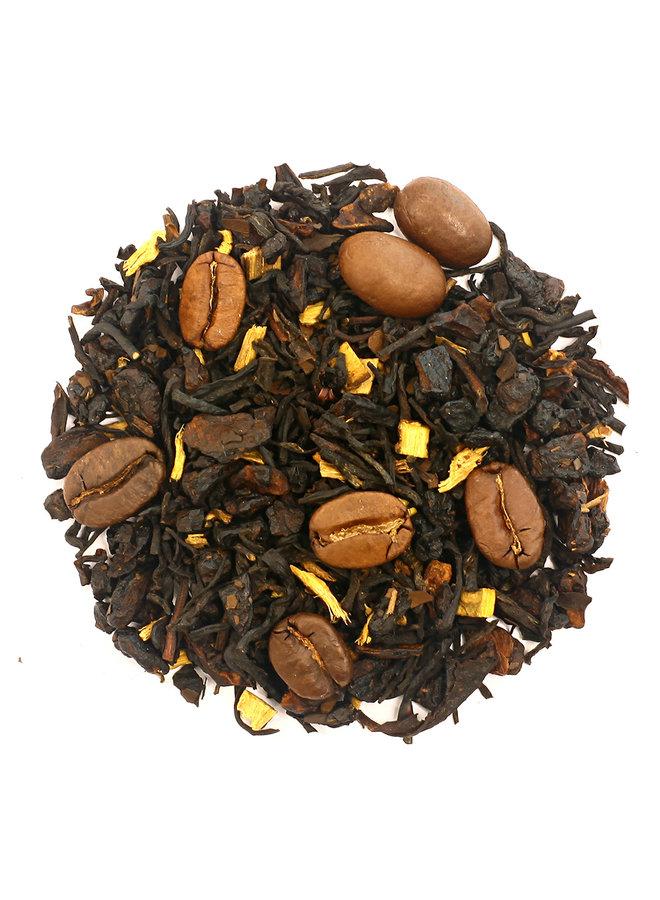 Yin Yang - Thé noir parfumé au café (100g)