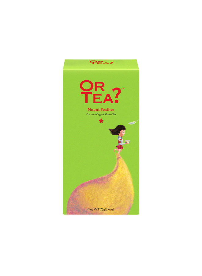 Or Tea? Mount Feather - Groene Thee Navulverpakking 75g losse thee