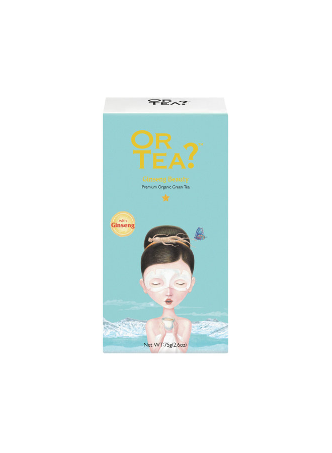 Or Tea? Ginseng Beauty - Green Tea with Herbal Infusion (75g)