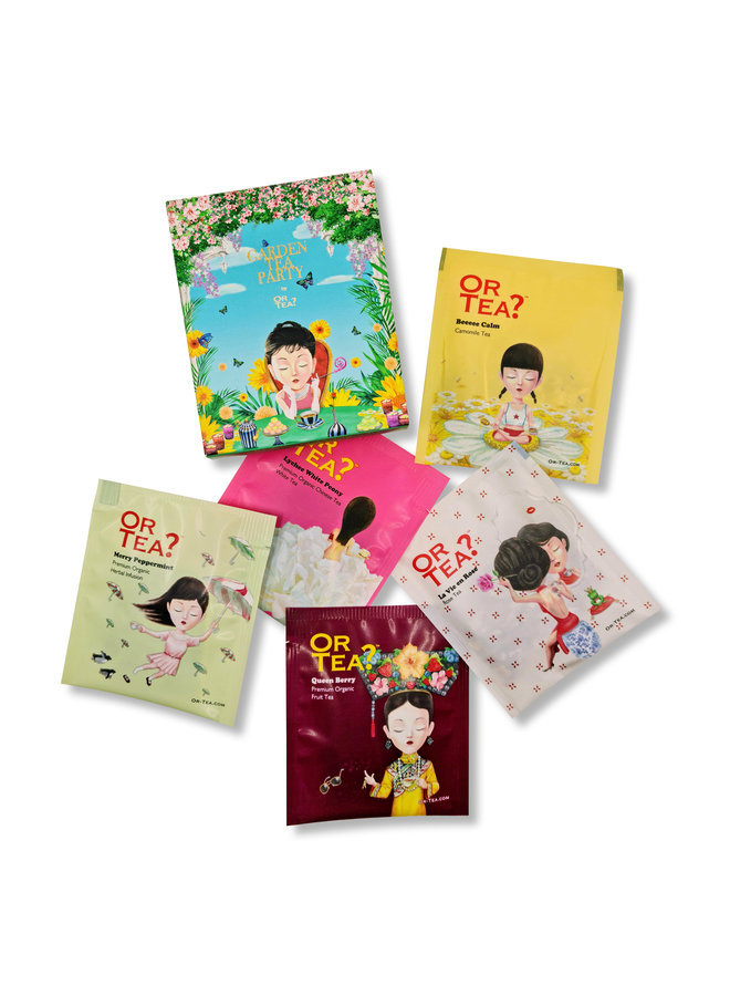 Or Tea? Garden Tea Party (box with 5 different sachets - 11g)