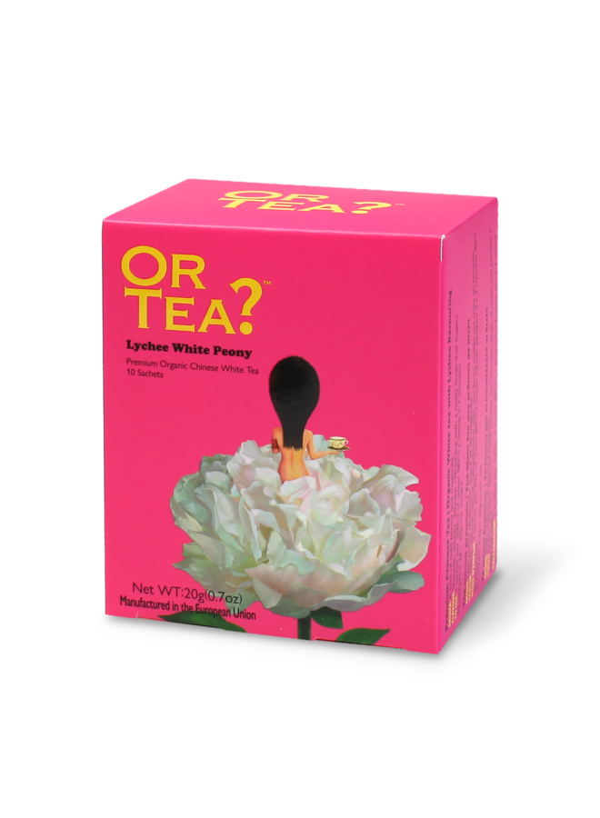 Or Tea? Lychee White Peony - Lychee Flavoured White Tea (20g)