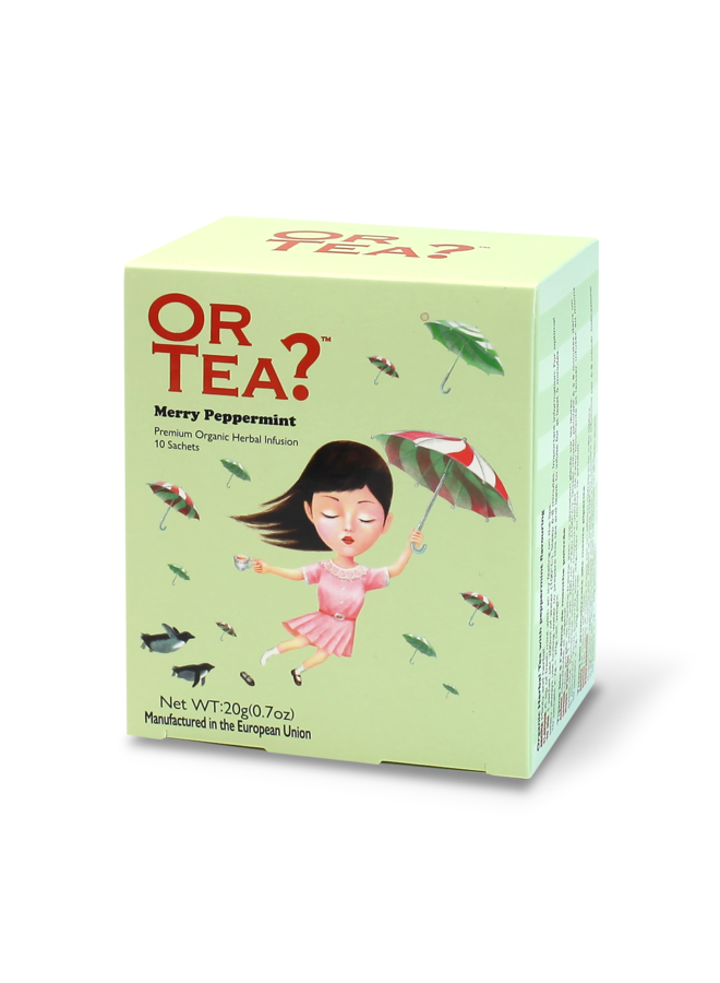 Or Tea? Merry Peppermint - Herbal Infusion (20g)