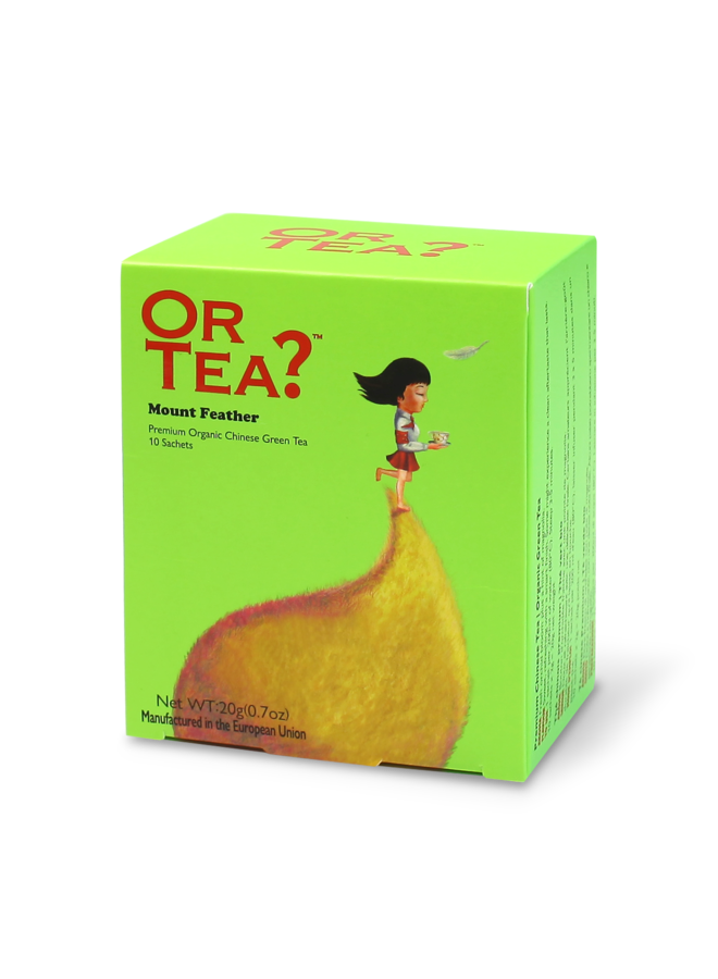 Or Tea? Mount Feather - Groene Thee (20g)