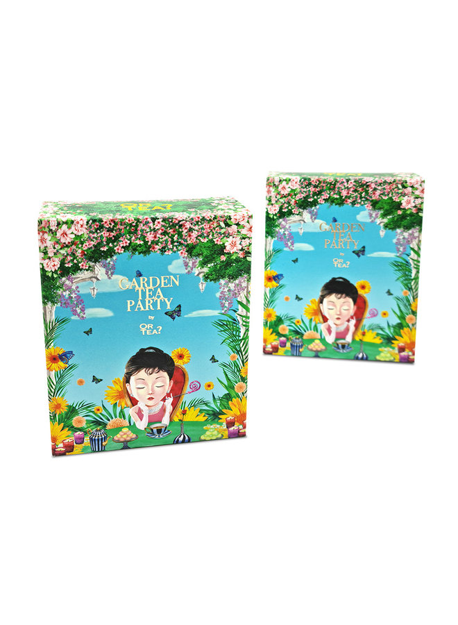 Garden Tea Party (box with 5 different sachets - 11g)