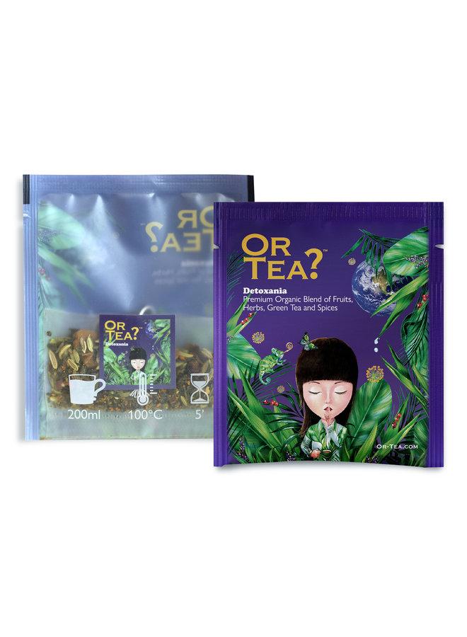 Or Tea? Detoxania - Thé vert avec infusion d'herbes et de fruits (25g)