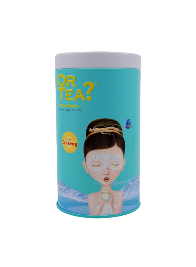 Ginseng Beauty - Green Tea with Herbal Infusion (75g) [Back in stock in mid April 2021]