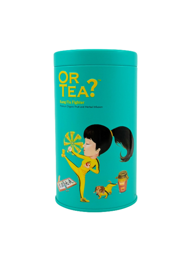Kung Flu Fighter - Green Tea with Herbal Infusion (100g)