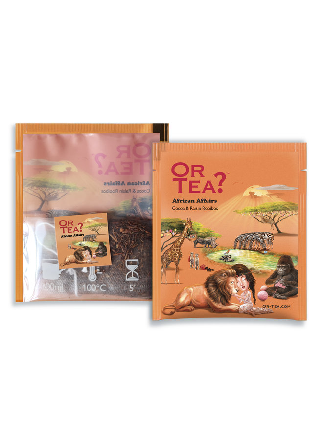 Or Tea? African Affairs  - Premium Cocoa & Raisin Rooibos (10 sachets)