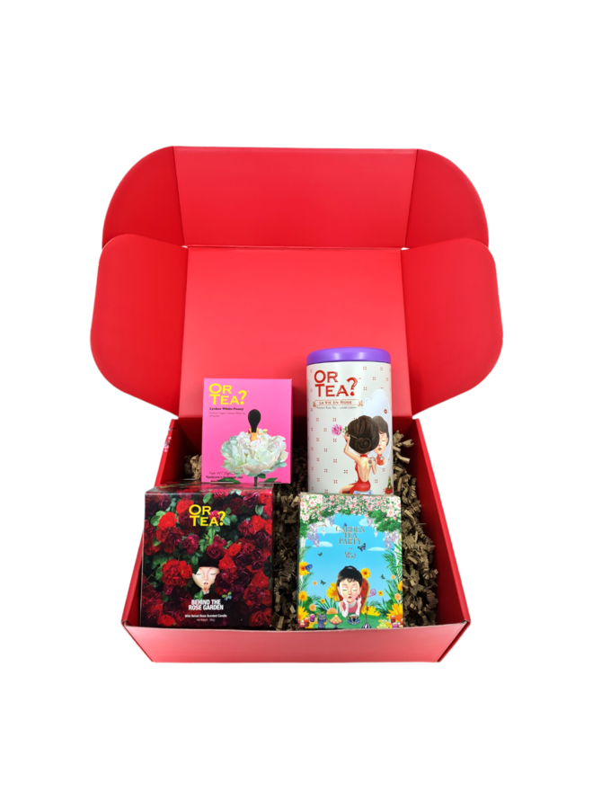 Or Tea? Gift Box 'Roses are forever'