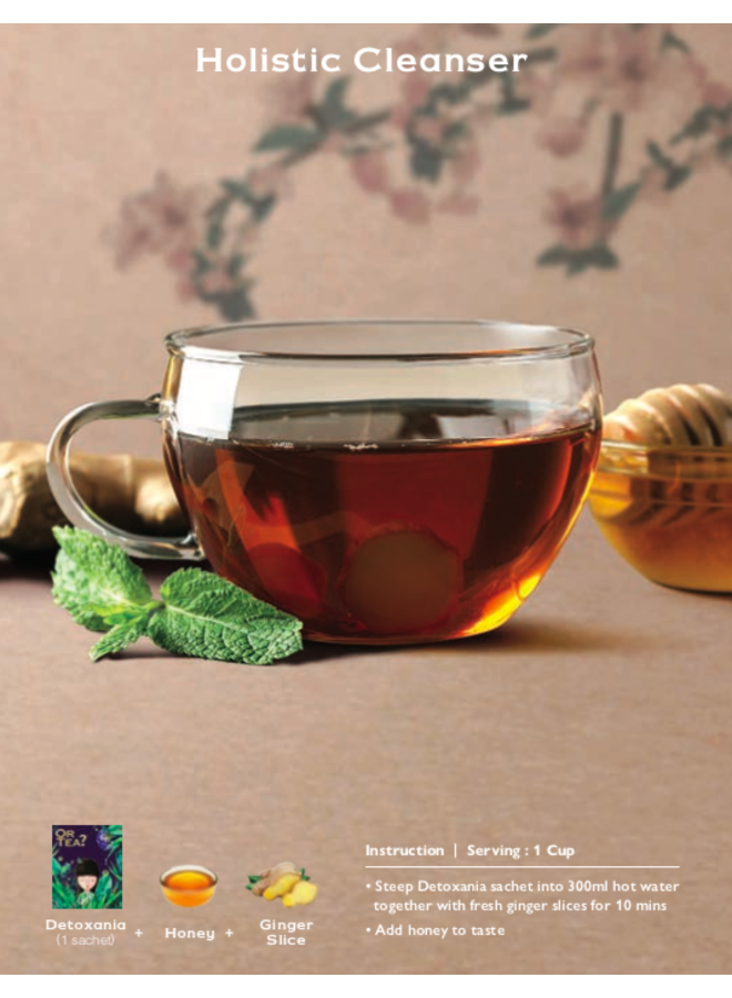 Detoxania - Green Tea with Herb & Fruit Infusion (25g)