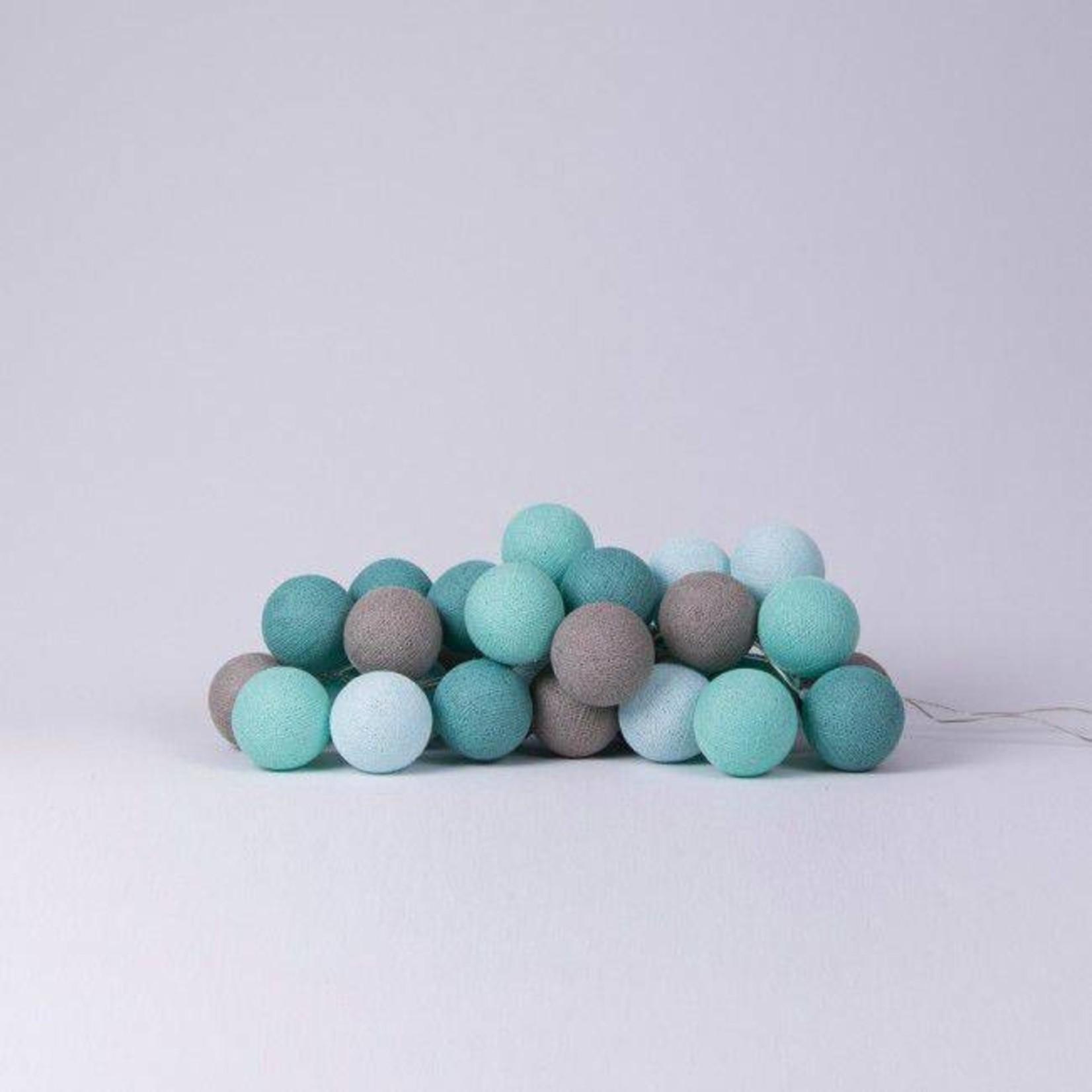 Cotton Ball Lights - Mint
