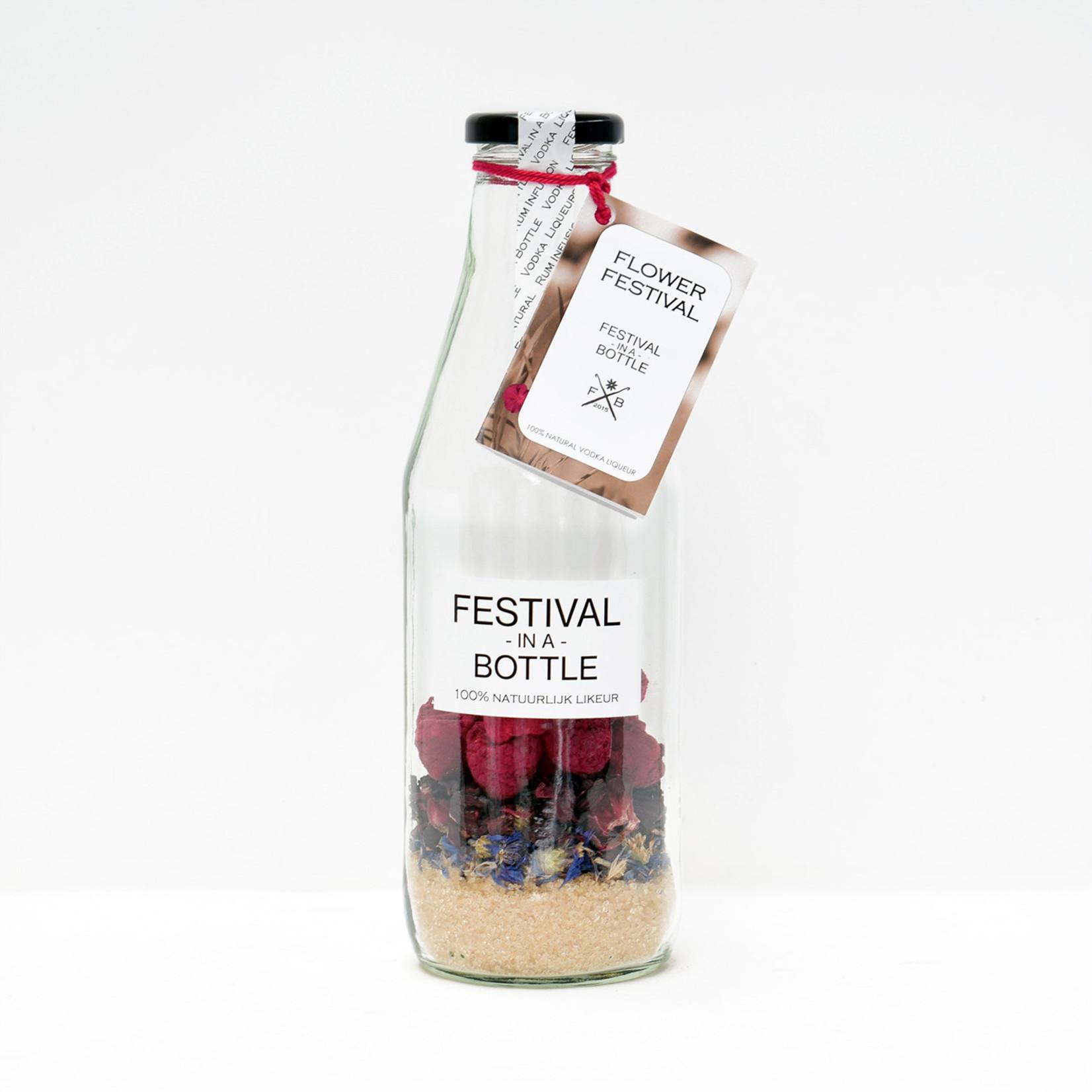 Festival in a bottle Flower Festival