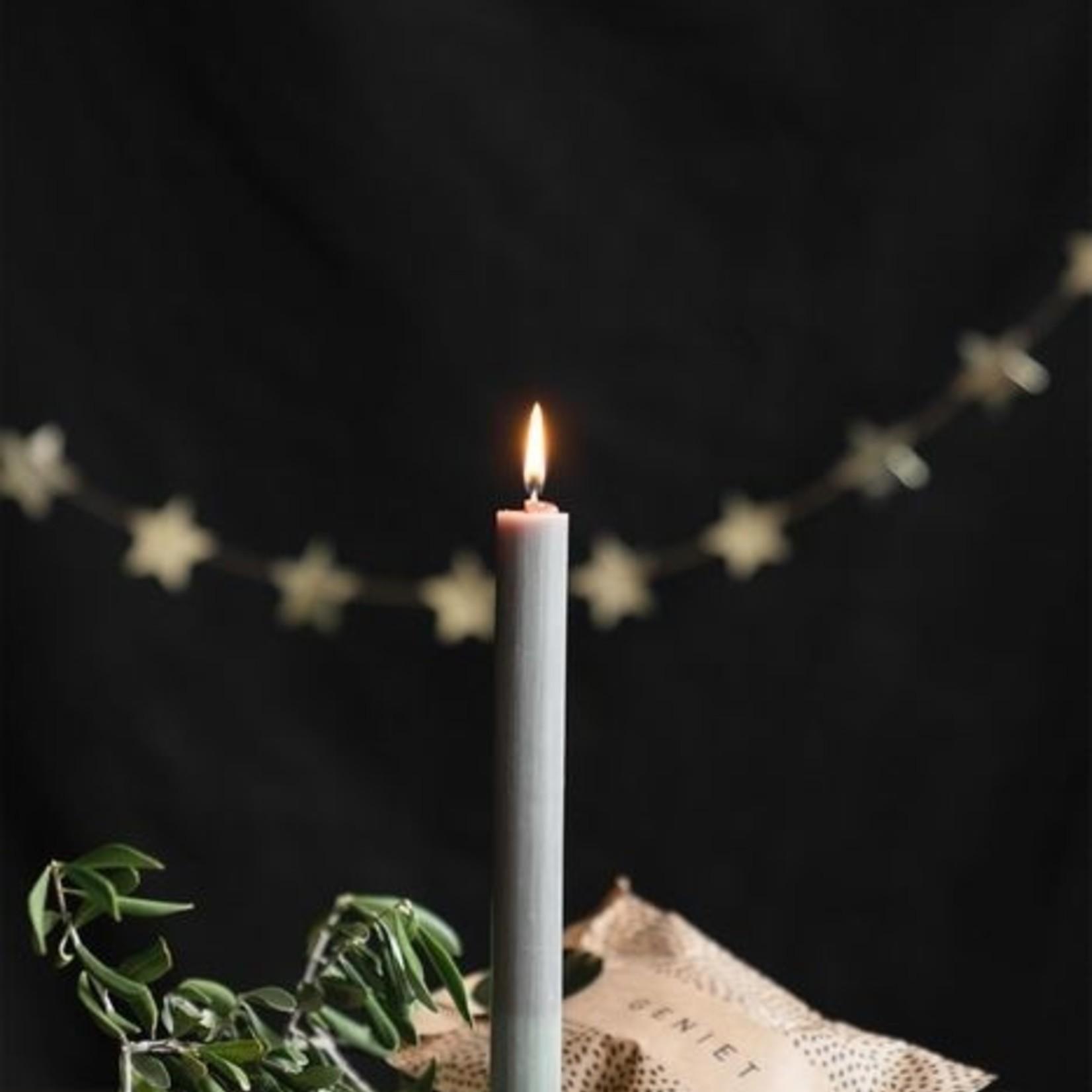 Kandelaar ster zwart Zusss