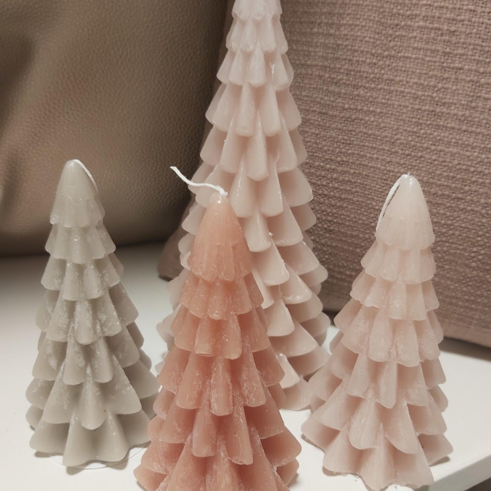 Kerstboom-kaars Groot 20cm