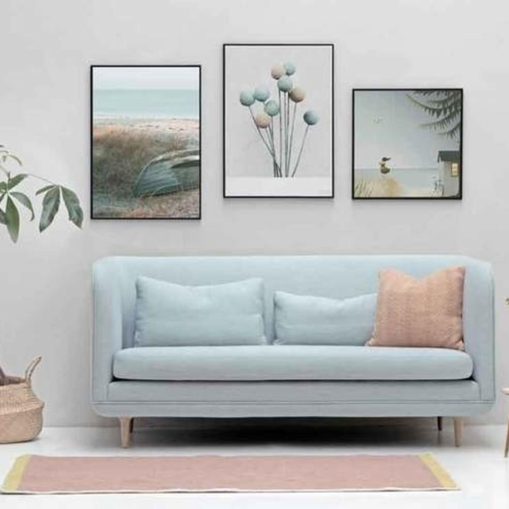 Vissevasse Poster - Ocean view - 40x40cm