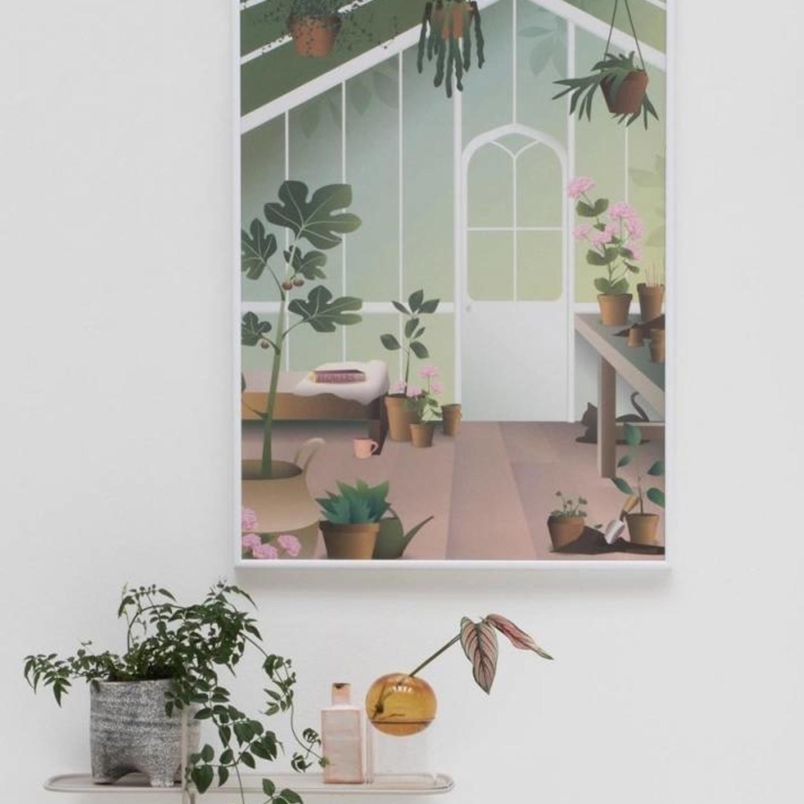 Poster Orangery - 3 maten - Vissevasse