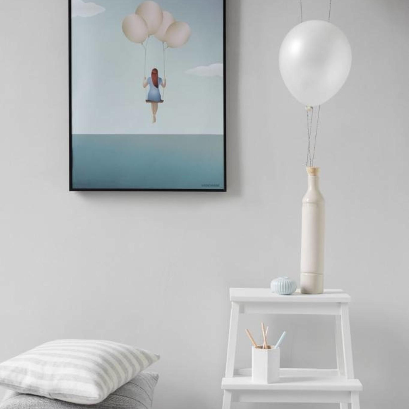 Vissevasse Poster - Balloon Dream - 3 maten