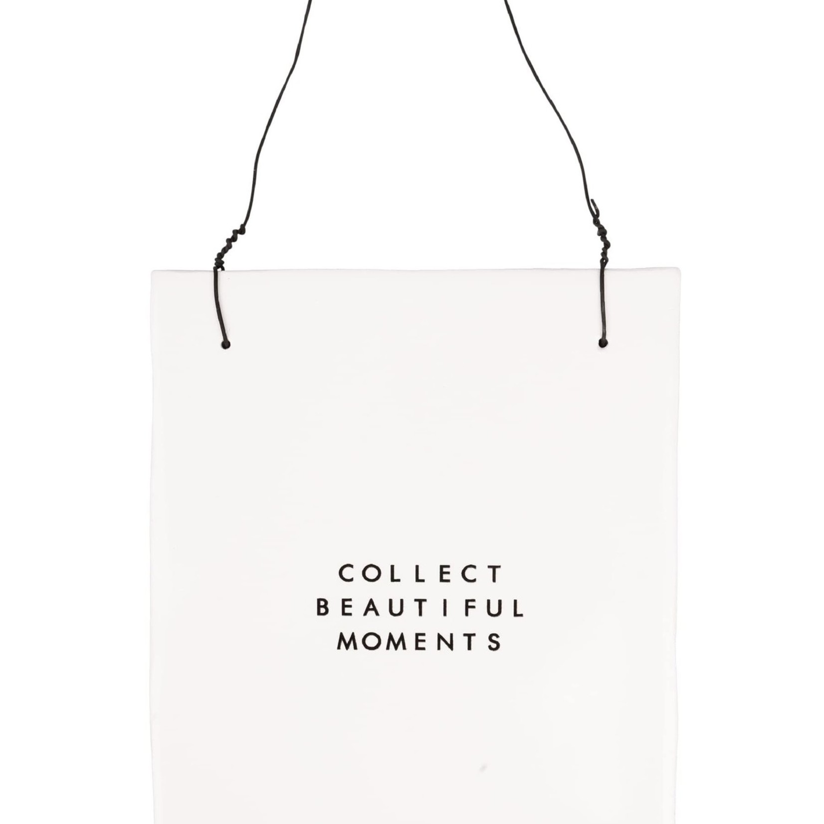 "Tekst tegeltje ""Collect moments"" - Zusss"