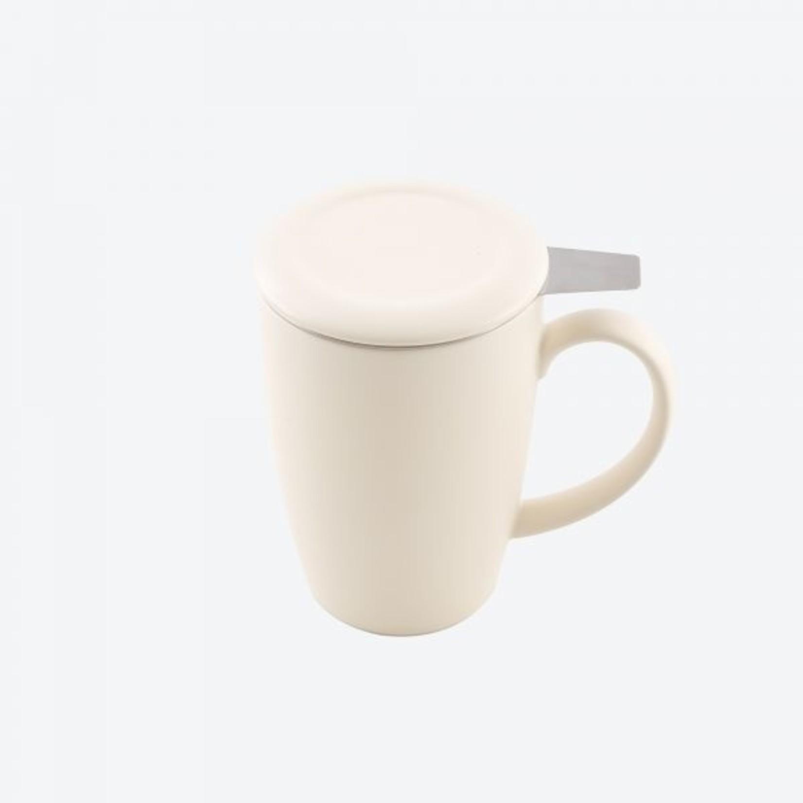 Point Virgule Mok met thee infuser en deksel - 3 kleuren