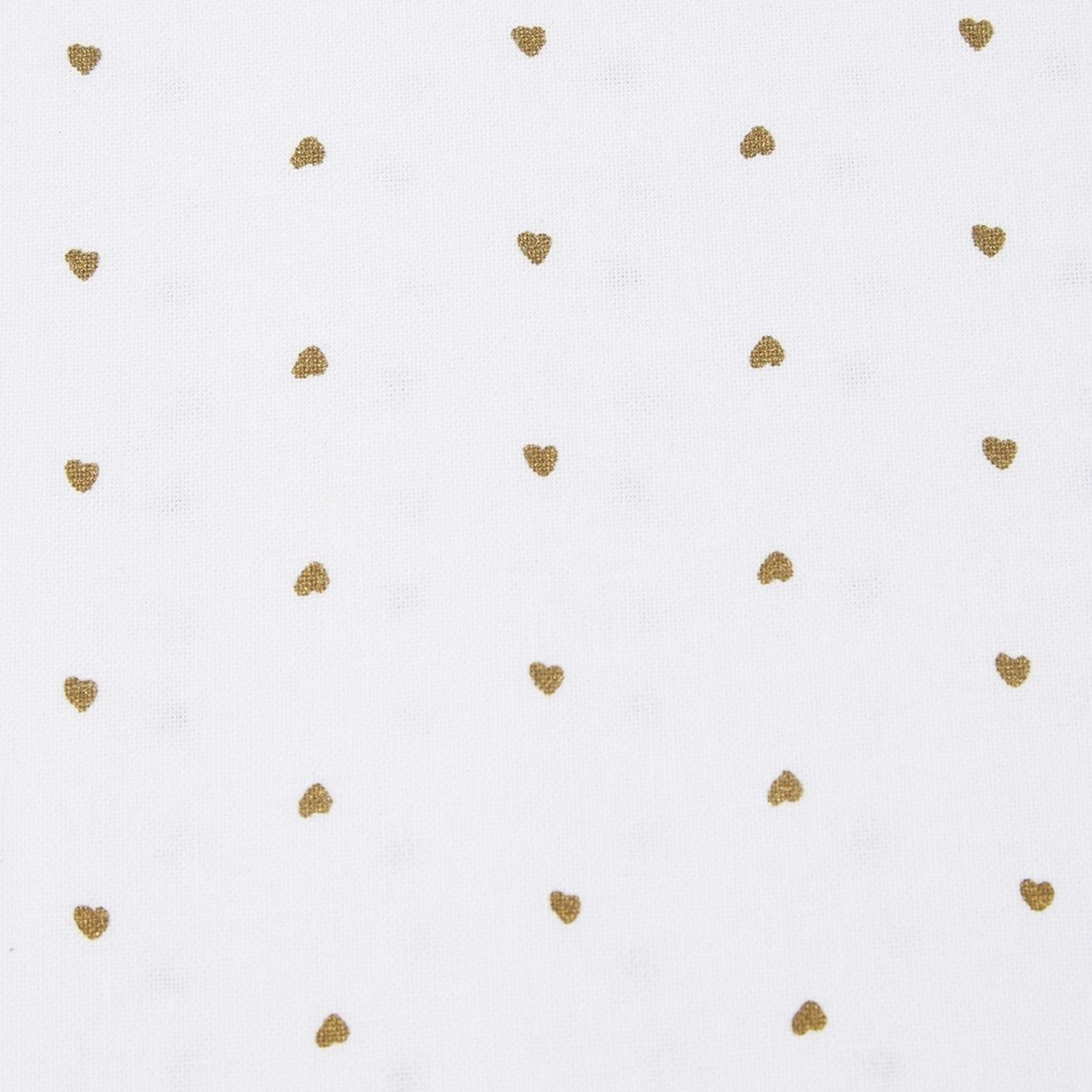 Tafelkleed - Gouden hartjes