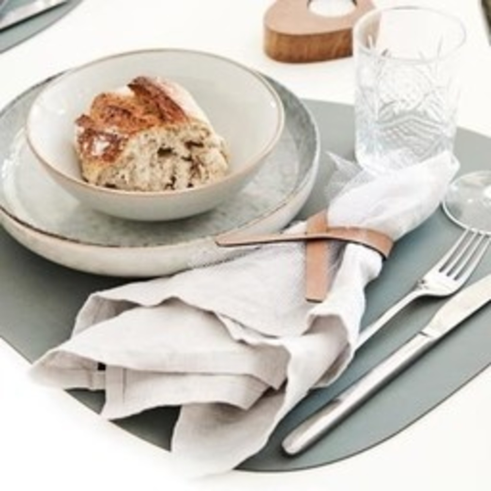 Placemat Nupo - pastel groen - Lind DNA