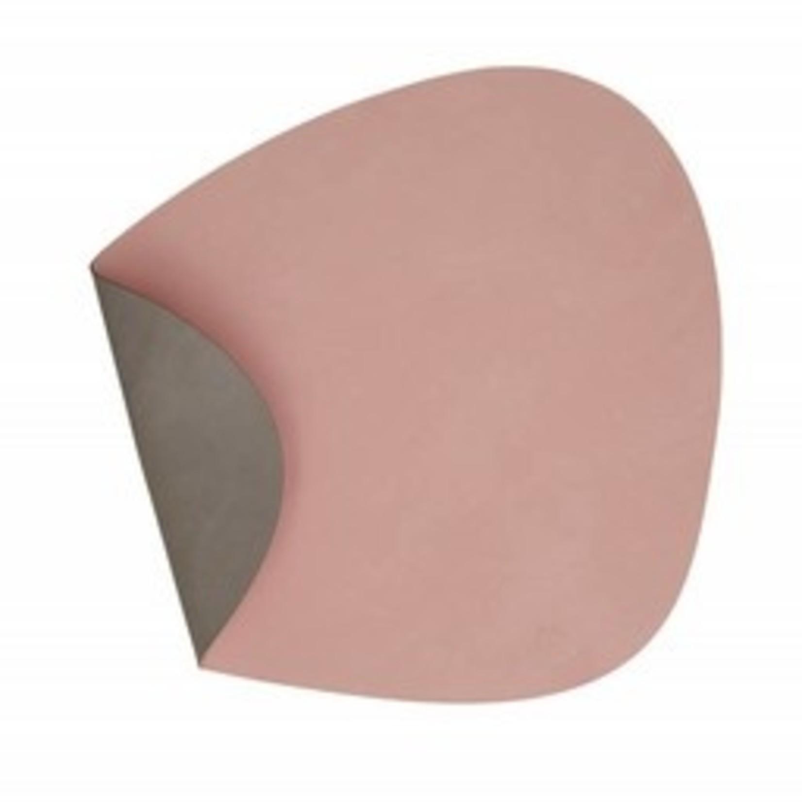Placemat Double - roze/licht grijs - Lind DNA