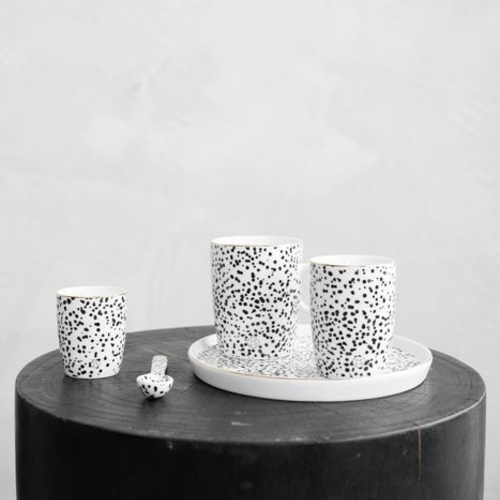 Zusss Ontbijtbord - Spikkels/Goud