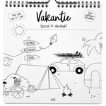 Vakantie puzzel en doe - boek Zoedt