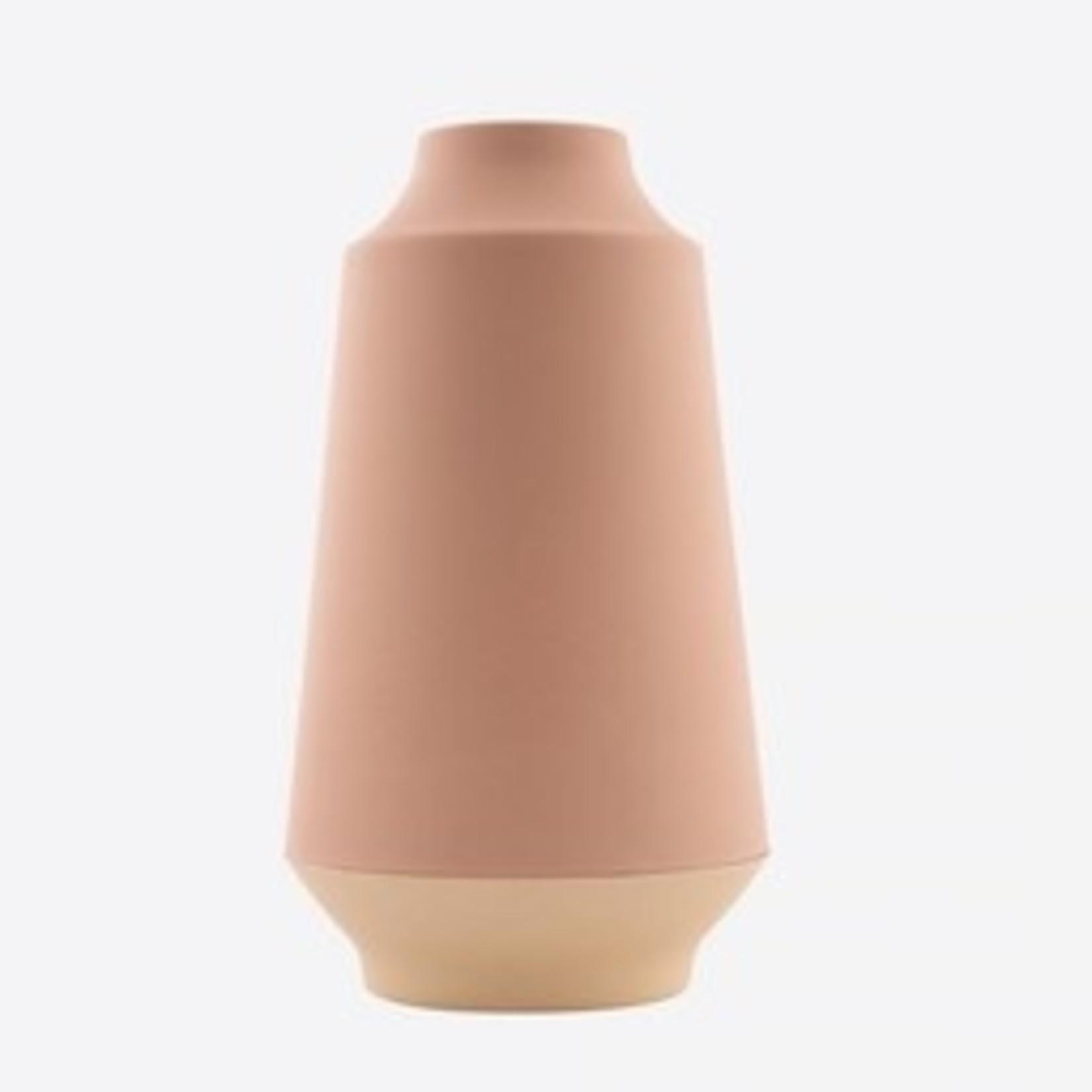 Vaas uit bamboevezel  26cm - 2 kleuren - Point Virgule