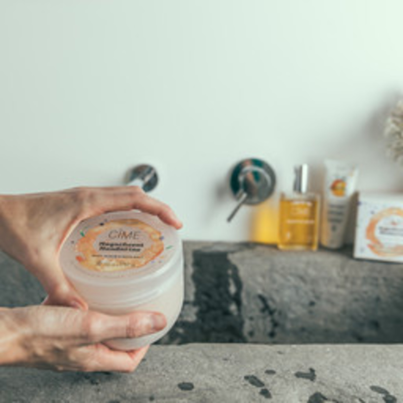 Cîme Bodyscrub & badzout - Magnificent Mandarine - Cîme