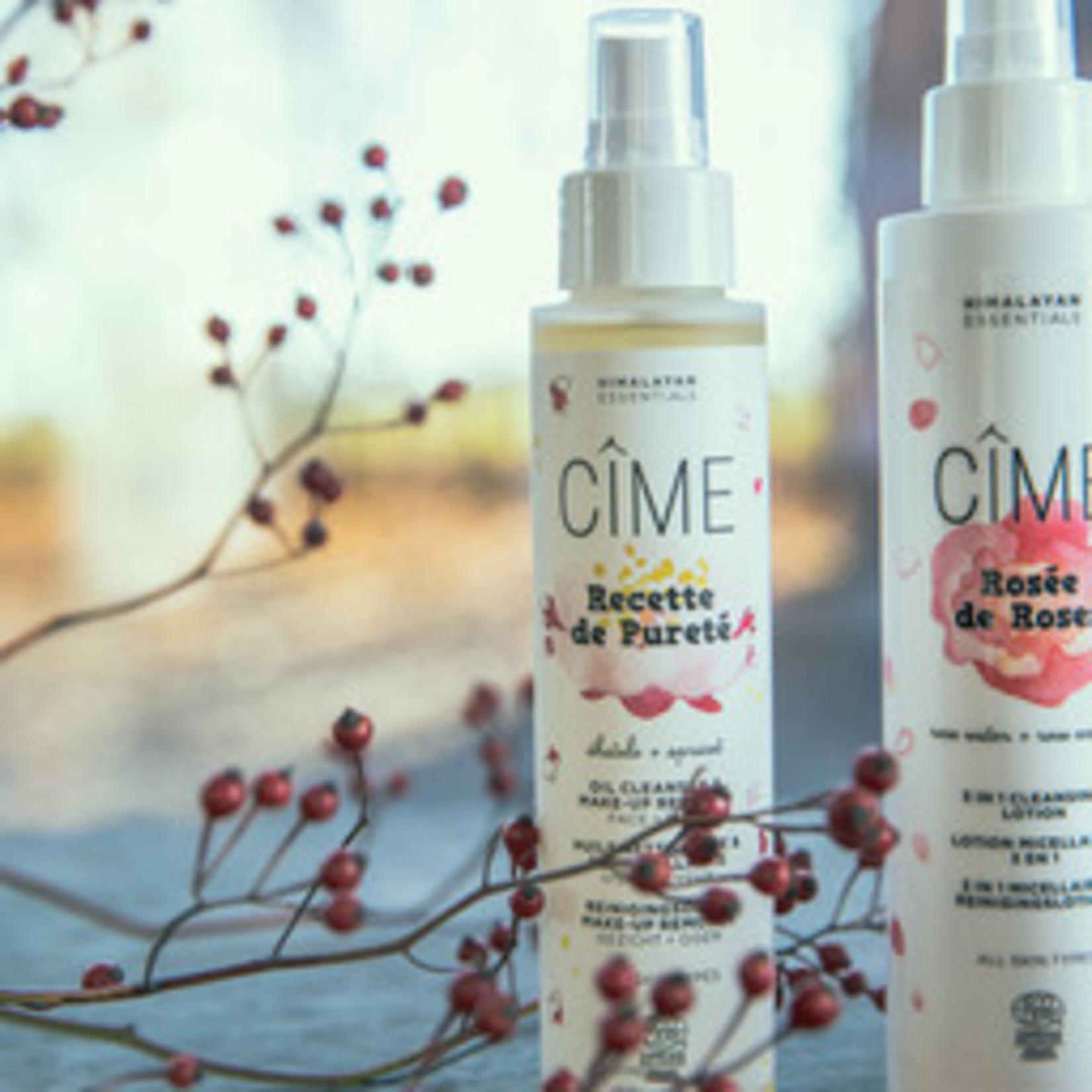 Cîme Reinigingsolie & make-up remover - Recette de Pureté