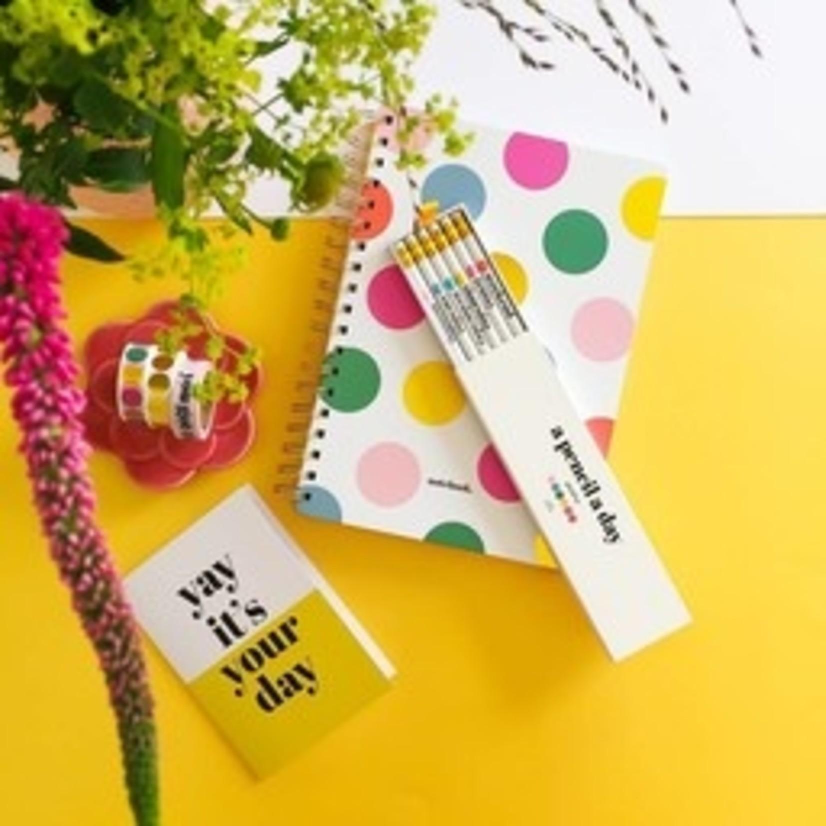 "Notitieboek ""Happy dots"" - Studio stationery"