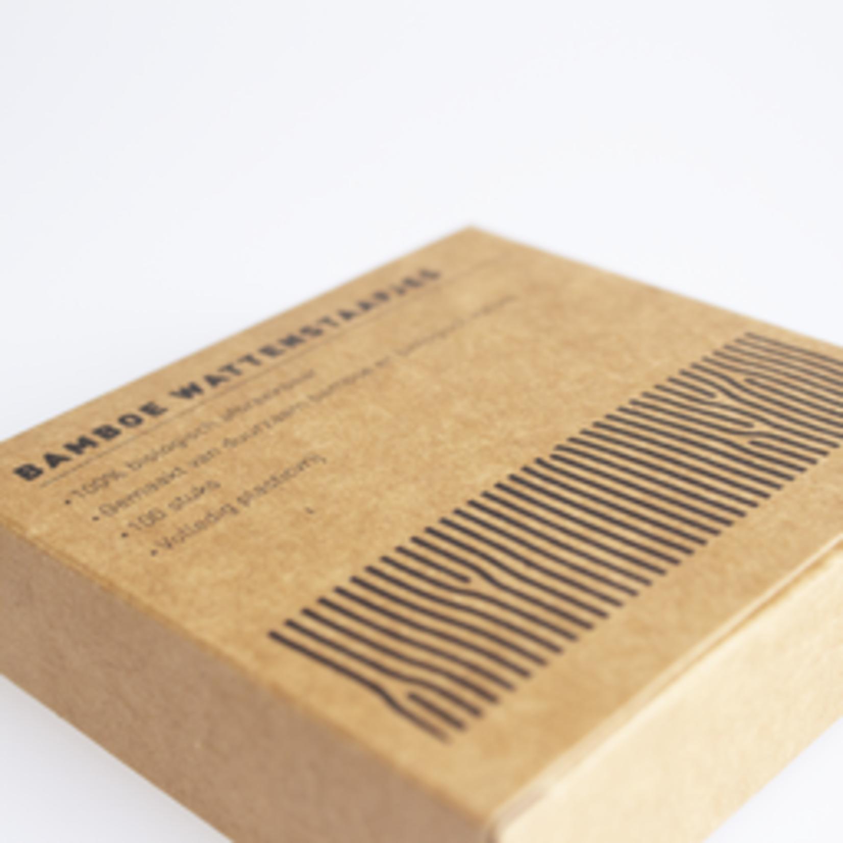 Oorstokjes / wattenstaafjes bamboe