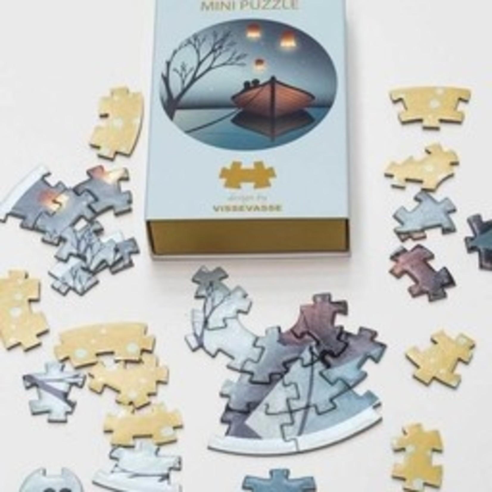 Mini puzzel - 3 varianten - Vissevasse