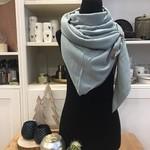 Lot 83 Sjaal - Fien-  Mint