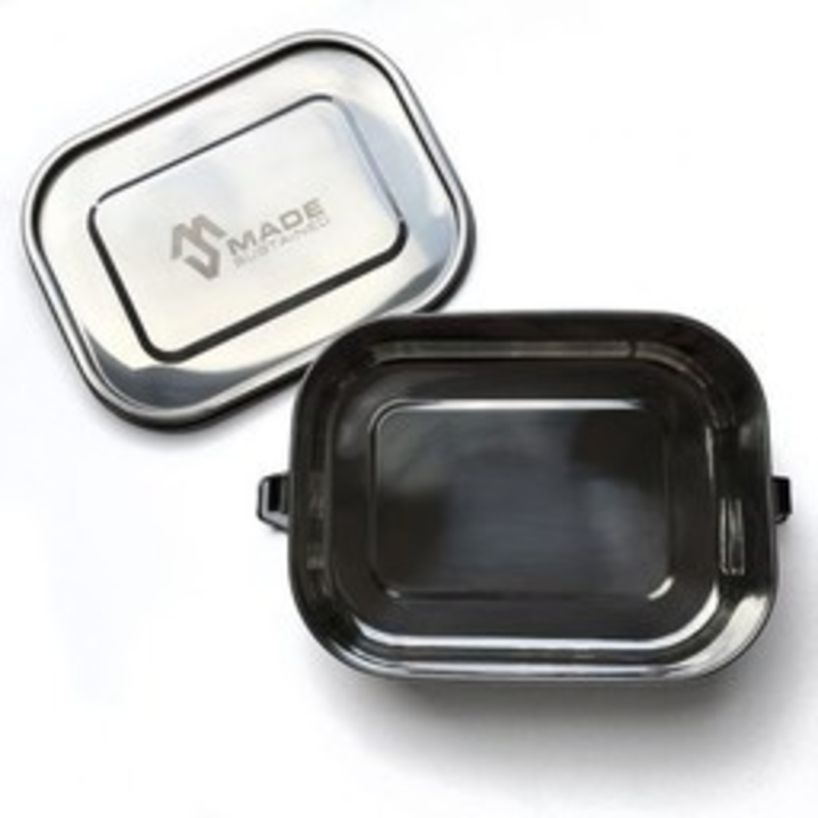 Lunchbox met clip - 2 maten -  Made sustained
