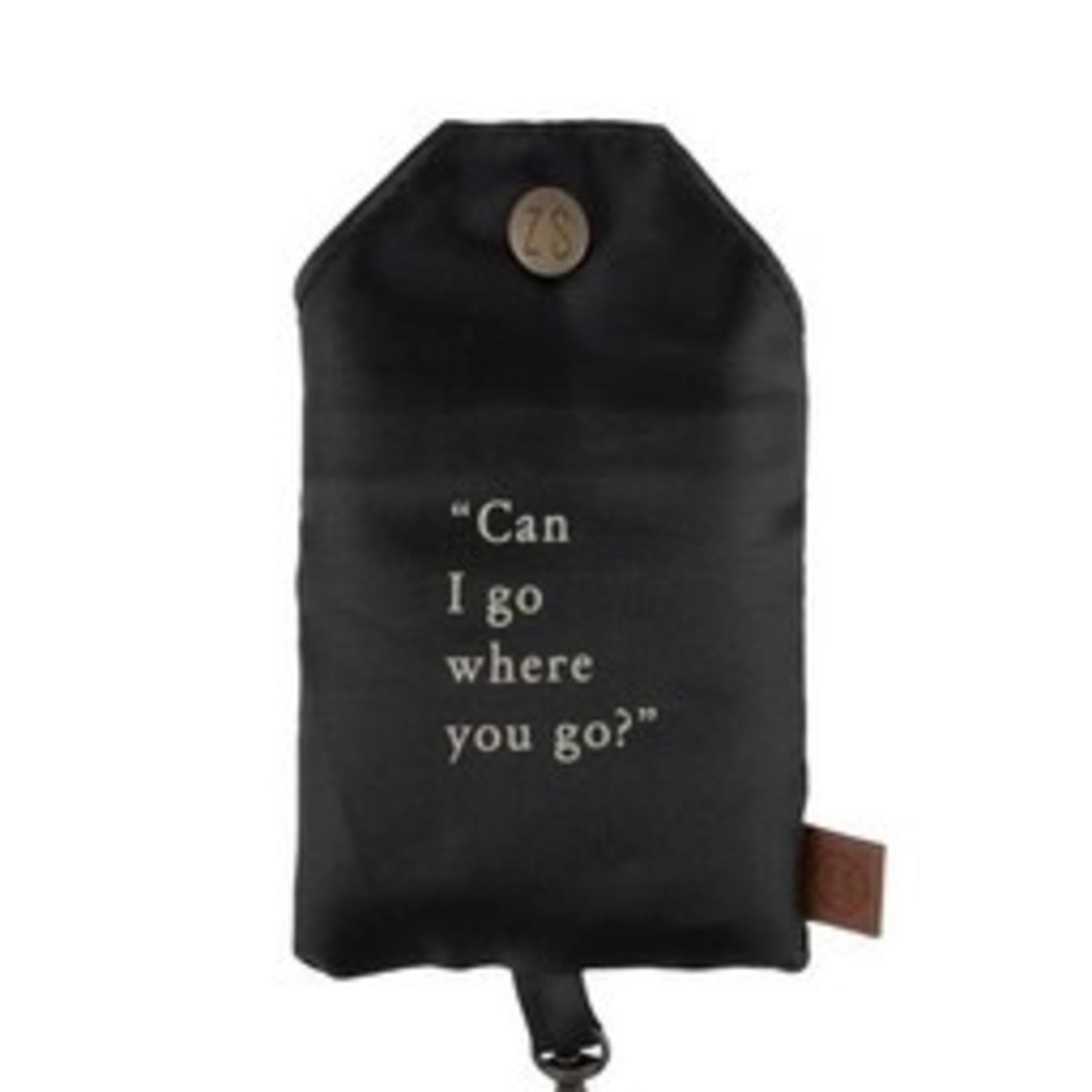 Opvouwbaar tasje - Can I go - Zusss