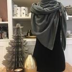 Lot 83 Sjaal - Fien - Grijs/groen