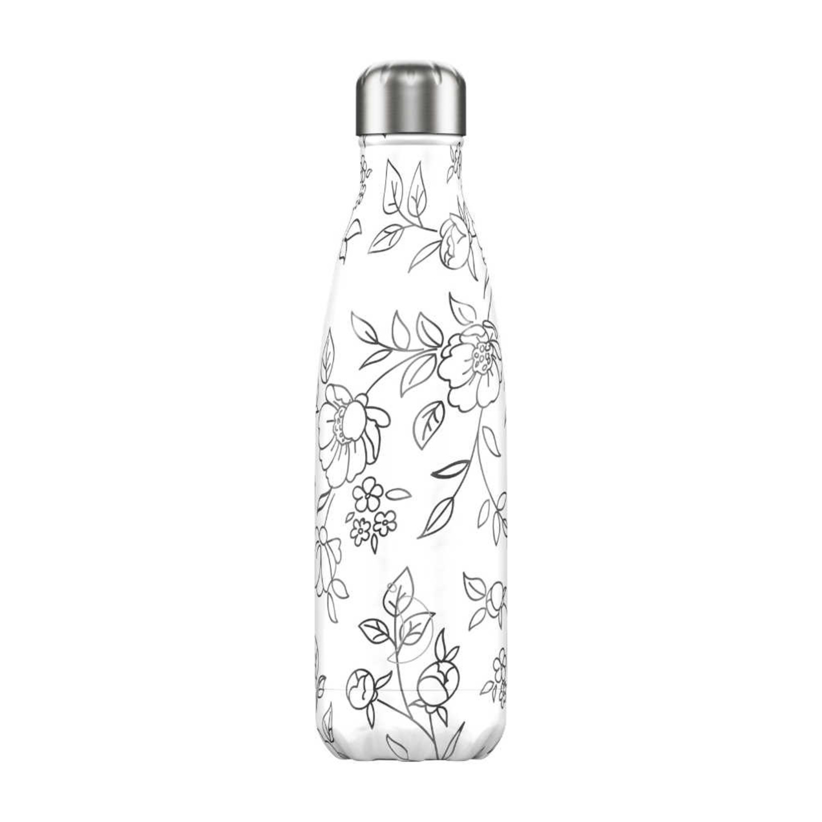 Chilly's Line Drawing Flowers 500ml
