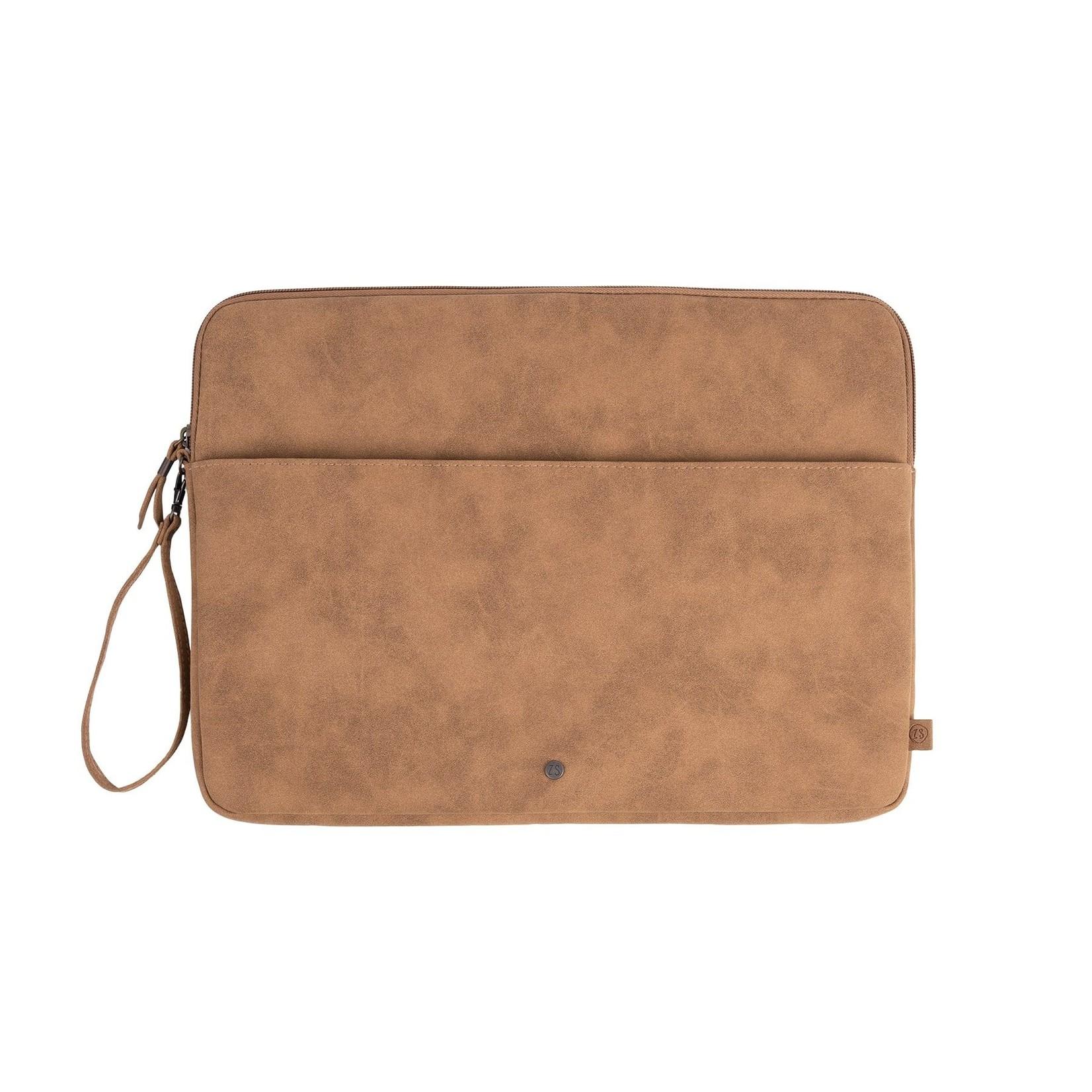 Zusss Laptopcover - Kaki - 15 inchh