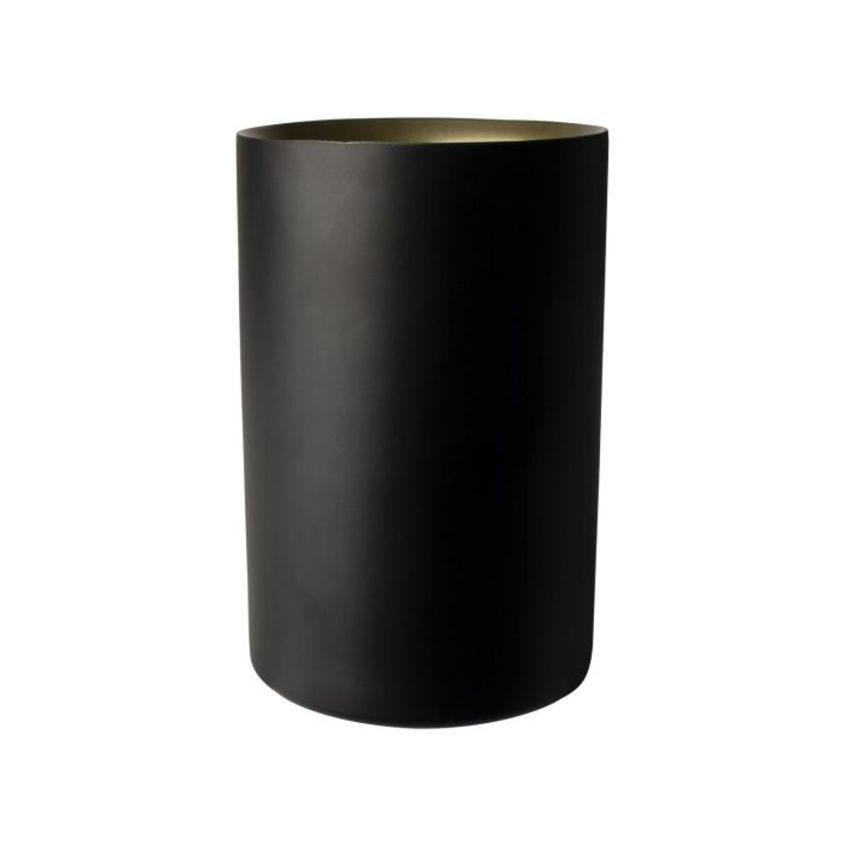 Wijnkoeler zwart/goud