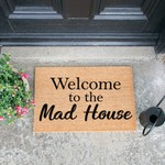 Deurmat  kokos - Mad house