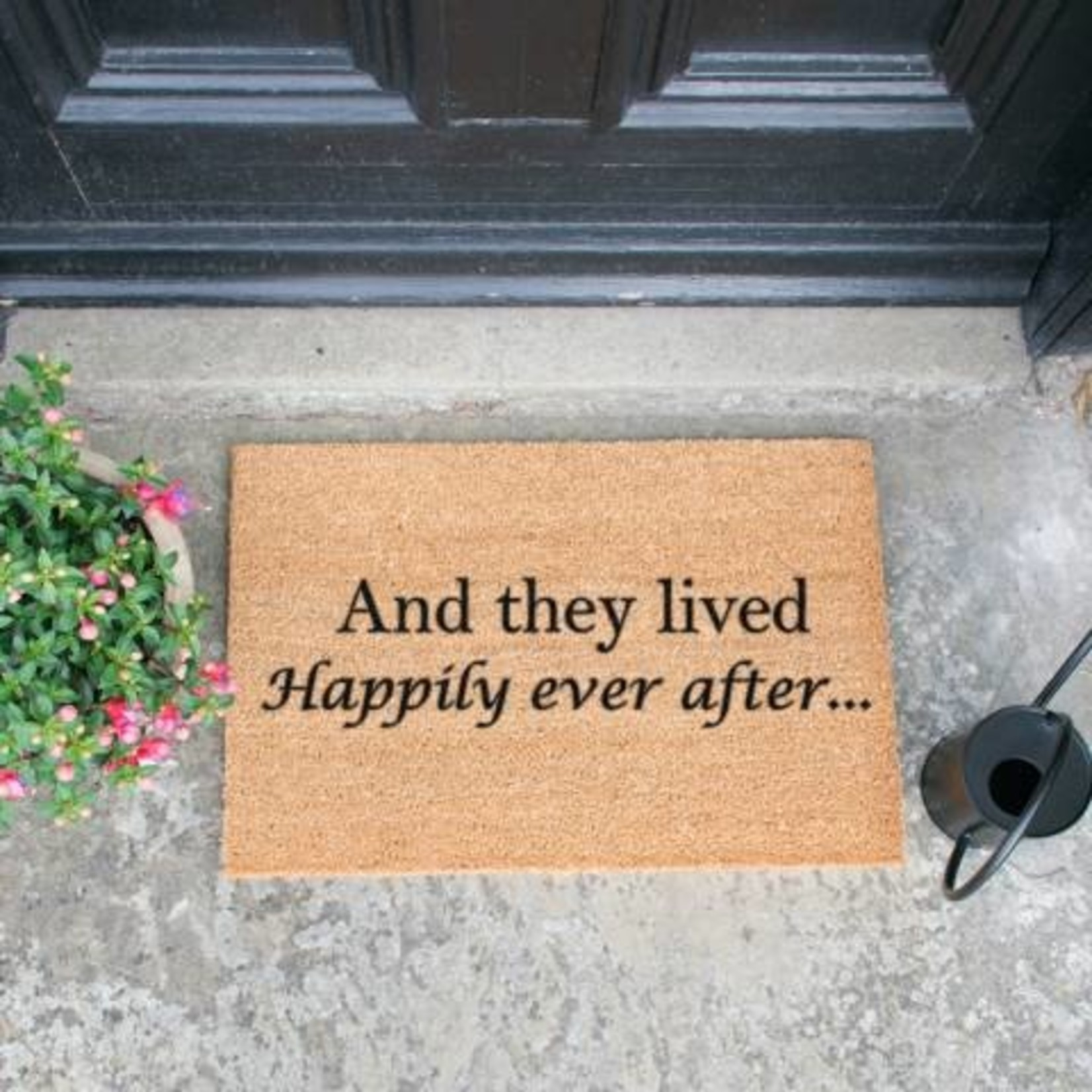 Deurmat - Kokos - Happily ever after...