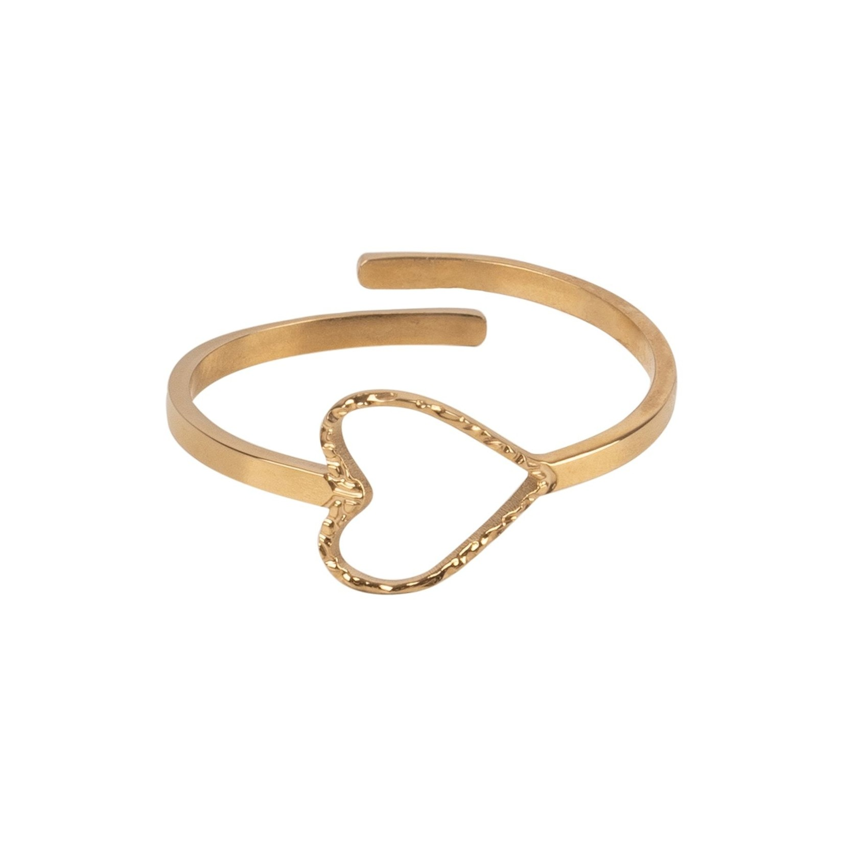 Zusss Ring - Hartje - Goud