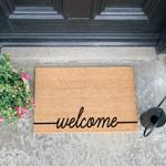 Deurmat kokos - Welcome