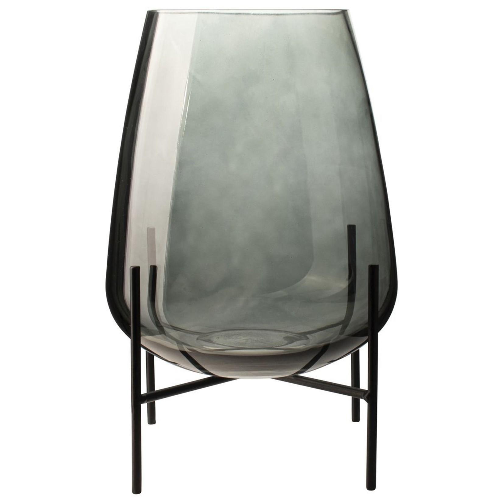 Glazen vaas met standaard Gusta