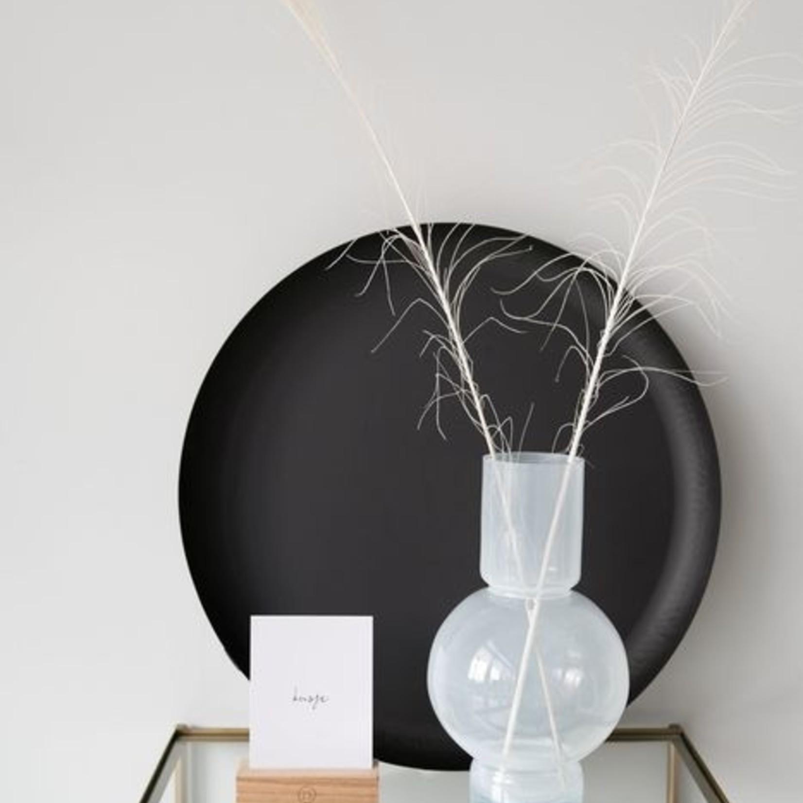 Zusss Bolvaas - Glas - Wit - 17x30cm